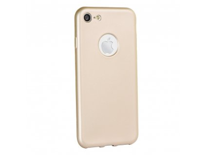 108623 pouzdro forcell jelly case flash mat apple iphone 7 8 plus zlate