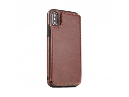 108518 pouzdro forcell wallet case samsung galaxy j3 2017 hnede