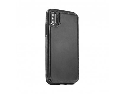 109346 pouzdro forcell wallet case samsung a7 2018 cerne