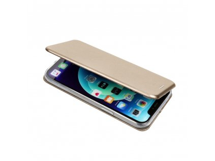 116438 3 pouzdro forcell book elegance samsung s10 pro zlate