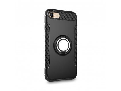 148559 pouzdro forcell carbon ring iphone 6 6s cerne