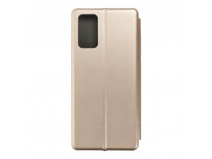 160667 pouzdro forcell book elegance samsung galaxy note 20 zlate