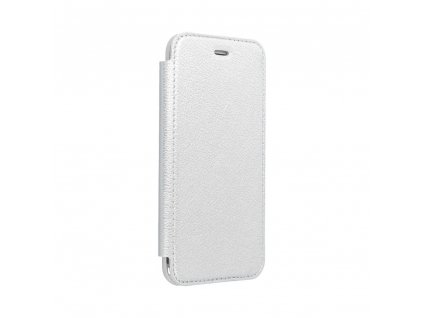 160190 3 pouzdro forcell electro book samsung galaxy note 20 ultra stribrne