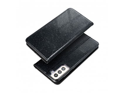 170729 2 pouzdro forcell shining book samsung galaxy a72 5g cerne