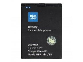 Baterie Blue Star 950mAh Nokia N97 Mini, Li-Ion - (náhrada za BL-4D)