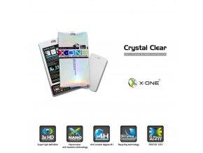 Ochranná fólie X-ONE Crystal Clear - Samsung i9195 Galaxy S4mini - 4H