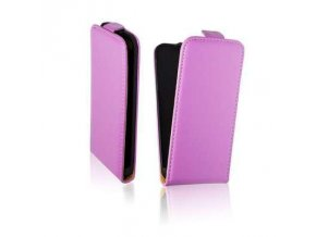 Pouzdro Slim 2 Flip Case - iPhone 5G fialové