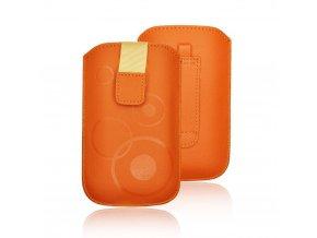 Forcell Deko 2 Case iPhone 4/4S/ S5830 Galaxy Ace/S6310 Young světle oranžová