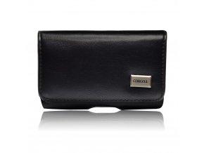 FORCELL Pouzdro CLASSIC 100A - Model 9 - (Sony Ericson K800/K850/ Samsung E2370/B2100/ Nokia 6230/N73) - černé