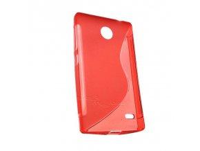 Pouzdro Back Case Lux - Samsung i8190 Galaxy S3 Mini oranžové vzor S