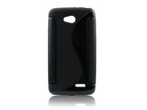 Pouzdro Back Case Lux - LG D290 L Fino černé vzor S