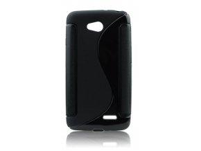 Pouzdro Back Case Lux - LG Magna černé vzor S
