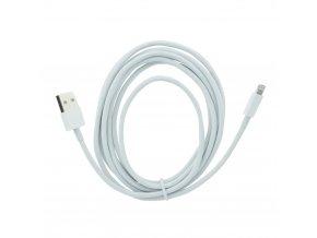 Forcell OEM Datový kabel pro Apple iPhone 5/5C/5S/6/6+ Bílý Lightning - 3 metry