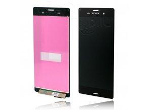 Sony Xperia Z3 D6603 LCD displej + dotyková deska Hq OEM - černá