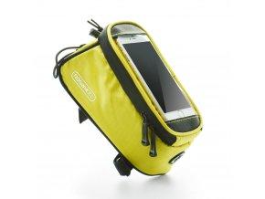 """ROSWHEEL Brašna na mobilní telefon na rám vel. 4,8"""" - žlutá"""