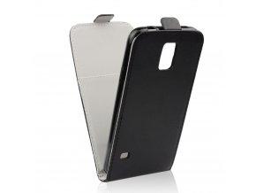 Pouzdro Slim Flip Flexi pro Microsoft Lumia 950 XL - černé