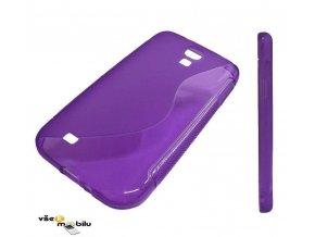 Pouzdro Back Case Lux - Samsung J100 Galaxy J1 - fialové vzor S