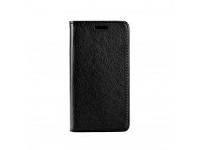 Pouzdro Magnet Flip Wallet Book pro Microsoft Lumia 550 - černé