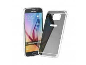 Pouzdro FORCELL Mirror - Zrcadlo pro Samsung Galaxy S7 Edge (G935F) šedé