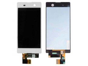 Sony Xperia M5 E5603 LCD displej + dotyková deska - bílá HQ
