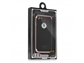 Pouzdro Kakusiga Silk DH Samsung Galaxy S7 Edge (G935) růžové