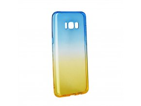 Pouzdro silikon Forcell OMBRE Samsung Galaxy S8 PLUS modro-zlaté