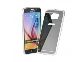 Pouzdro FORCELL Mirror - Zrcadlo pro Samsung Galaxy S8 PLUS šedé