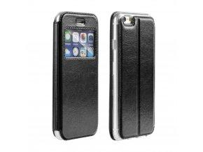 Pouzdro Magnet View Case Apple Iphone 5/5S/SE černé