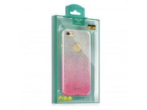 Pouzdro Kakusiga Ombre pro Apple Iphone 7 růžové