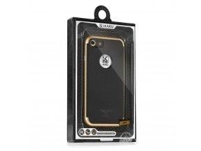Pouzdro Kakusiga Silk DH Samsung Galaxy S7 Edge (G935) zlaté