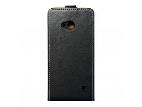 Forcell pouzdro Slim Flip Flexi FRESH pro Nokia Lumia 640 - černé