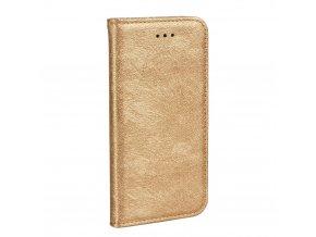 Forcell pouzdro MAGIC Book - Huawei P10 Lite - zlaté
