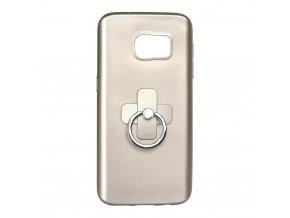 Pouzdro X-LEVEL Jelly 2 pro Samsung G930 Galaxy S7 - zlaté