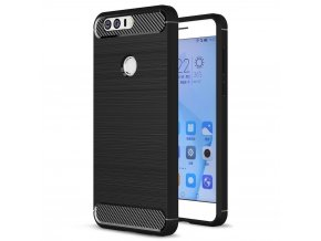 Pouzdro Forcell Carbon back cover Huawei Honor 8 - černé