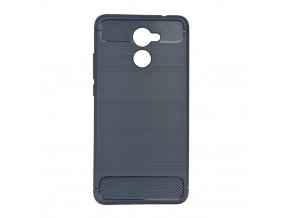 Pouzdro Forcell Carbon back cover pro Huawei Y7 - modré