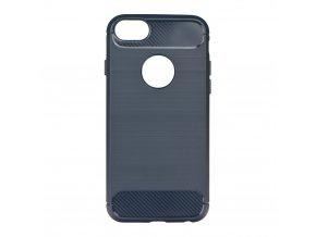 Pouzdro Forcell Carbon back cover pro Apple iPhone 7/8 Plus - modré