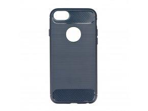 Pouzdro Forcell Carbon back cover pro Apple iPhone 6/6S Plus - modré