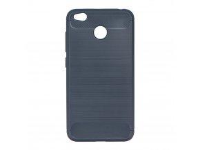 Pouzdro Forcell Carbon back cover pro Xiaomi Redmi 4X - modré