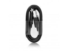 USB Kabel A-B (micro - délka konektoru 8mm) - černý