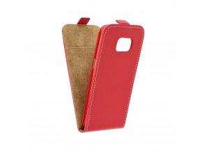 Forcell pouzdro Slim Flip Flexi FRESH pro Samsung G950 Galaxy S8 - červené