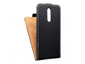 Forcell pouzdro Slim Flip Flexi FRESH pro Nokia 8 - černé
