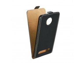 Forcell pouzdro Slim Flip Flexi FRESH pro Motorola Moto Z2 Play - černé