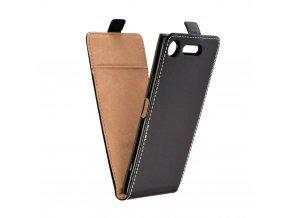 Forcell pouzdro Slim Flip Flexi FRESH pro Sony Xperia XZ1 - černé