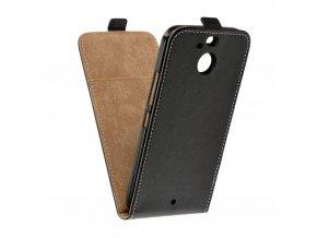 Forcell pouzdro Slim Flip Flexi FRESH pro HTC U11 Plus - černé