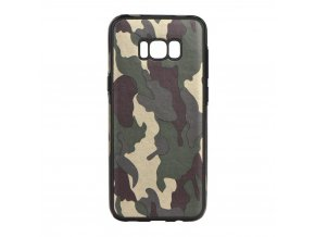 Pouzdro Forcell MORO Army pro Samsung Galaxy S8 zelené