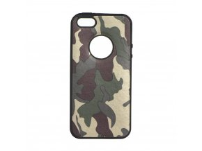 Pouzdro Forcell MORO Army pro Apple Iphone 5/5S/5SE zelené