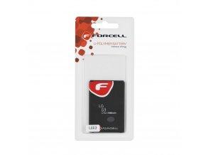 Baterie Forcell Maximum Energy pro LG G3 3300 mAh Li-Ion HQ
