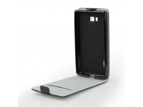 Pouzdro Forcell Slim flip flexi LG Q6 černé