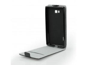 Pouzdro Forcell Slim flip flexi HTC U Play černé