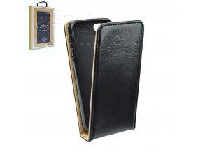 Blun pouzdro FLEXI Flip pro Sony Xperia E4 (E2104, E2105) - černé